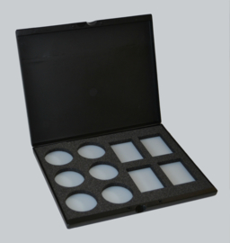 Paradise Make-up AQ Empty Palette 6 spot/4 prismaspot