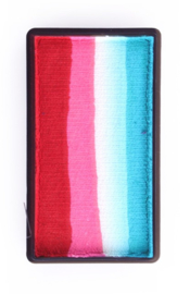 PXP Onestroke Block rood|roze|wit|turquoise