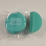 Paradise Make-up AQ - Teal Foam Sponge - per 2