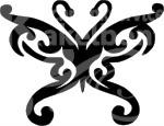 Vlinder deco