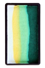 PXP Onestroke Block wit|geel|lime|d.groen
