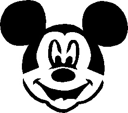 Mickey Mouse hoofd2