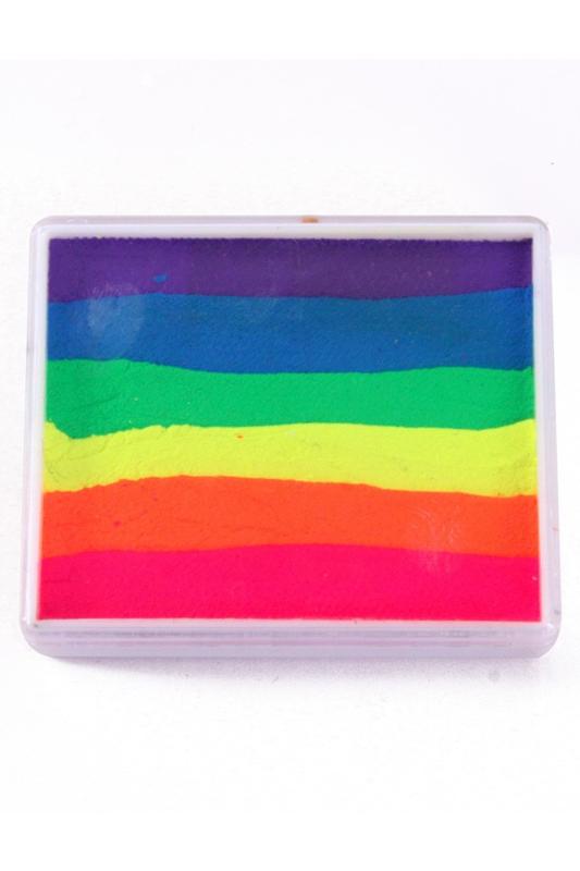 PXP Aqua Splitcake neon violet|blauw|groen|geel|oranje|roze