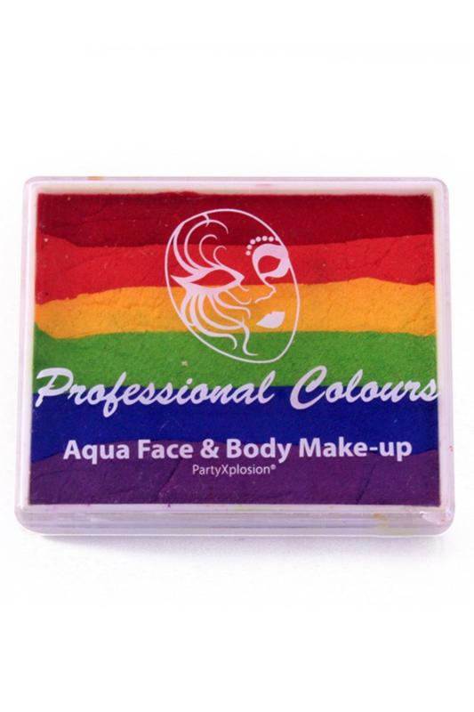 PXP Aqua Splitcake rood|oranje|geel|groen|blauw|paars