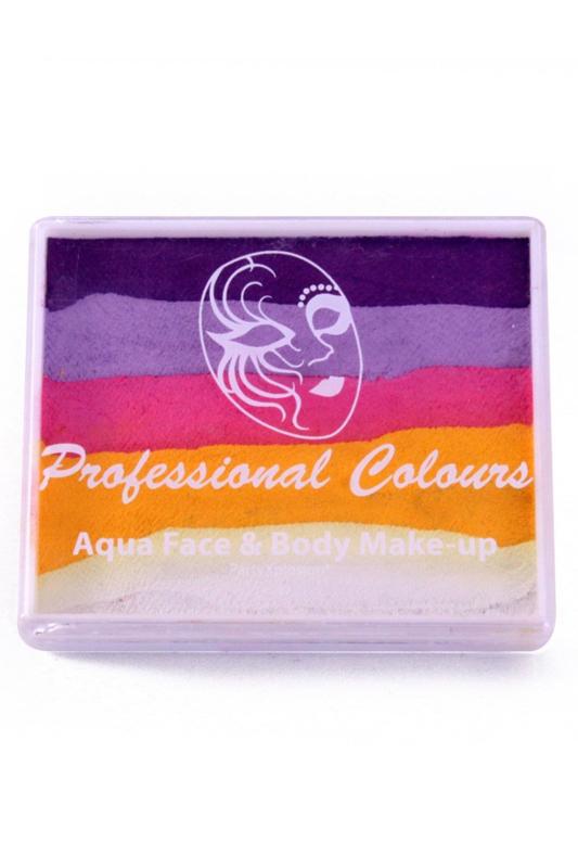 PXP Aqua Splitcake paars|lila|roze|geel|wit