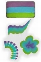 PXP One Stroke paars|turquoise|groen