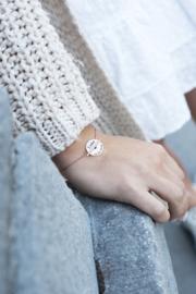 Coin naam armband graveren | Zilver