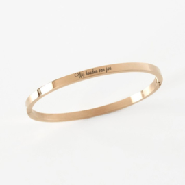 Bangle | Slavenarmband graveren | Goud