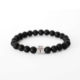 Vaderdag cadeau tip | Initiaal kralen armband