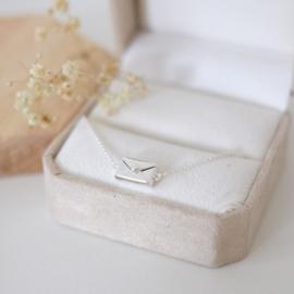 Love letter armband | zilver