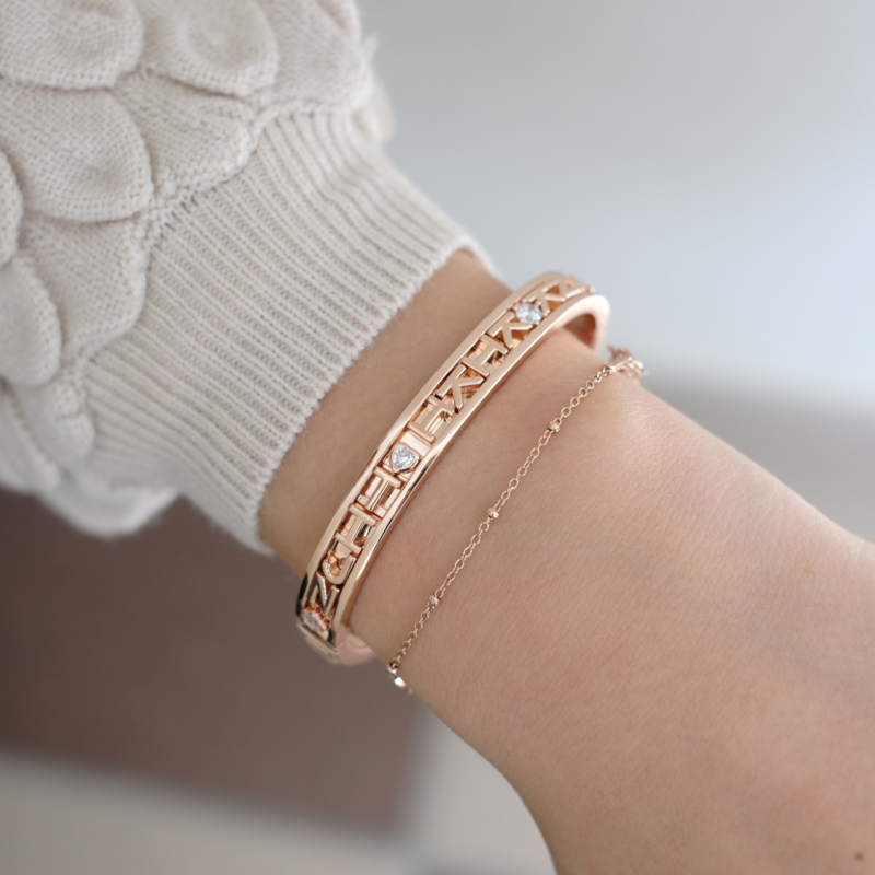 Changeable armband | Rosé