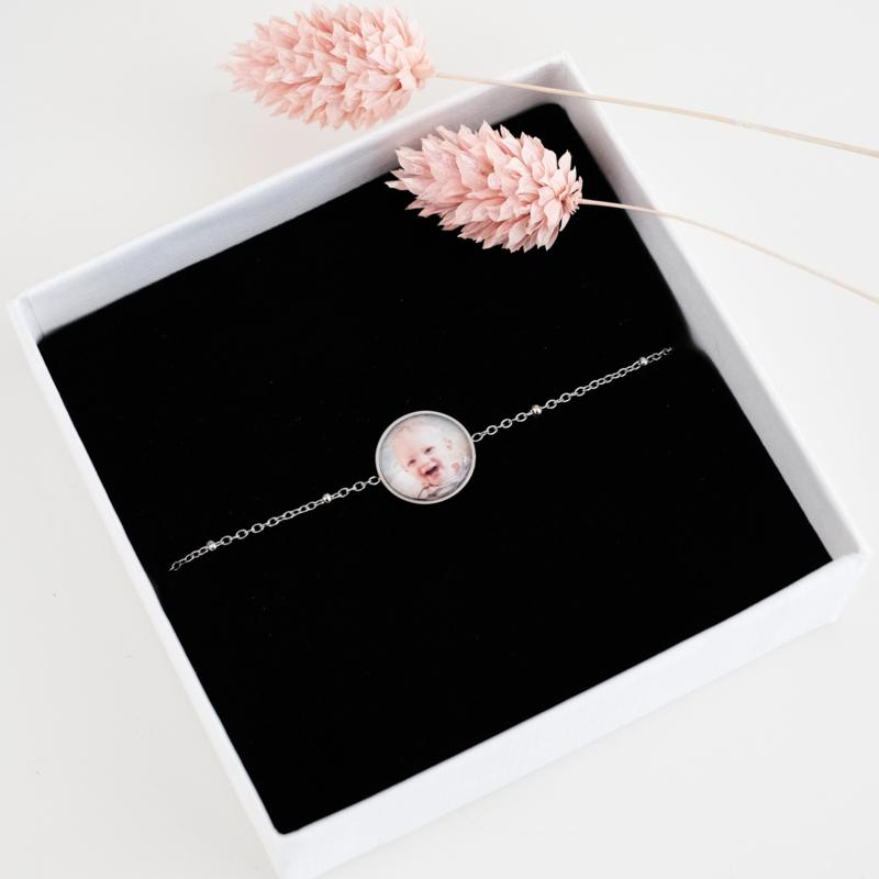 Foto armband | zilver