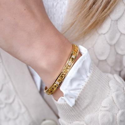Changeable armband | Goud