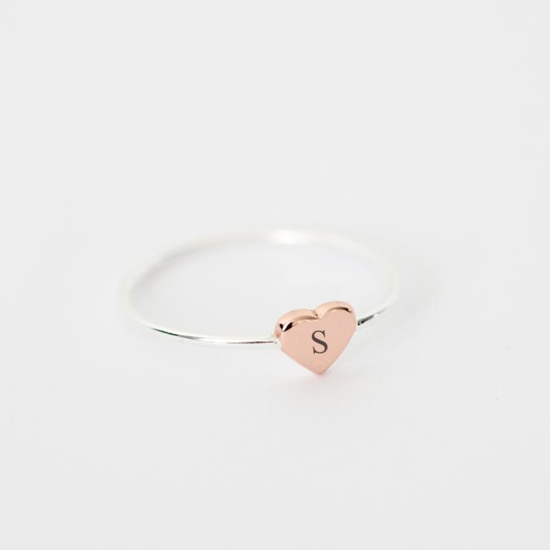 Sweetheart ring | zilver rosé