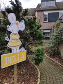 Geboortebord raam voor Bella
