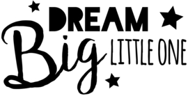"Muursticker kinderkamer ""Dream Big"""