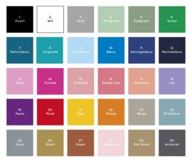 Koffertje Silhouette *Kies je kleur* meisje