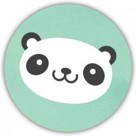 Sluitzegel Geboortekaart panda - Jongen