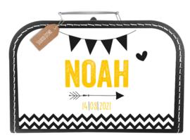 Koffertje 'Noah'  *Koffertje en bedrukking in diverse kleuren*