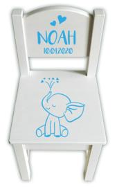 Geboortestoeltje olifantje **Kies je favoriete kleur!**