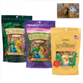 Combi-Deal Lafeber Nutri-Berries - PARKIET 3 Smaken