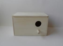 Agaporniden nestkastje / broedblok klein