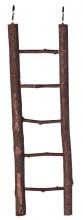 Natuurhouten ladder