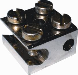 Radiator verbindingsklem 1 x 25 / 6mm2