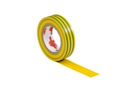 Isolatie tape VDE geel/groen 10mtr 15mm - Würth