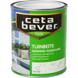CETABEVER TUINBEITS DEKKEND 1000 ML 300 WIT Zijdeglans