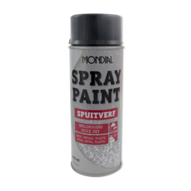 Spuitbus spray paint hoogglans antraciet 7016 400 ML