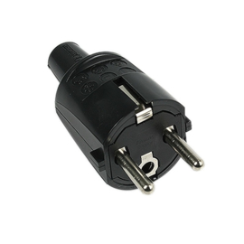 Stekker ABL PVC Zwart