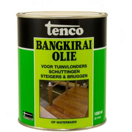 Tenco bankirai olie transparant waterbasis 1000 ml