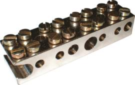 Badkamer rail 5x6mm2 - 1x25mm2