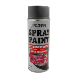 Spuitbus spray paint hittebestendig antraciet 400 ml