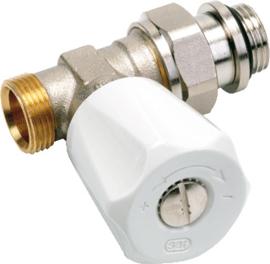 VSH Comap radiatorkraan 1/2 recht buitendraad m22