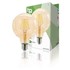 Retro led filament e27 G95 2.8w 200lm 2000k