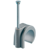 Spijkerclip grijs 16 - 19 mm