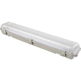 Led TL armatuur IP65 2x9w 60 cm