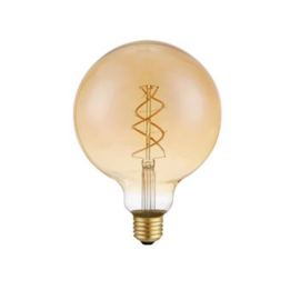 Retro led filament e27 G125 5W 230lm 2200k
