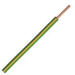 Donne Vd draad 100 mtr geelgroen 2,5mm
