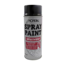 Spuitbus spraypaint Ral 9005 Gitzwart hoogglans 400 ml