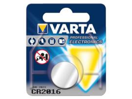 Varta 3v knoopcel CR2016 lithium