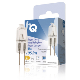 Halogeenlamp g4 capsule 10w 105 lm 2800k ( 2st )