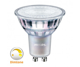 Philips ledlamp Dimtone 4,9w Gu10