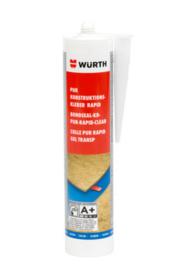 Constructielijm PUR Rapid bruin 310 ml