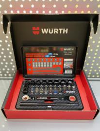 Würth 29delige Dopsleutel-bitset Rw edition 2020