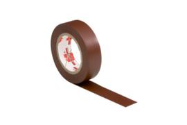 Isolatie tape VDE bruin 10 mtr 15mm - Würth