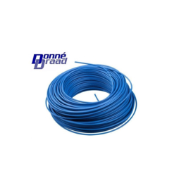Donne Vd draad blauw 100 meter 2,5mm