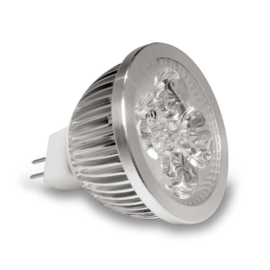 10 st Led spot Gu5,3 4W 3000k 12V ( 30/40W  MR16